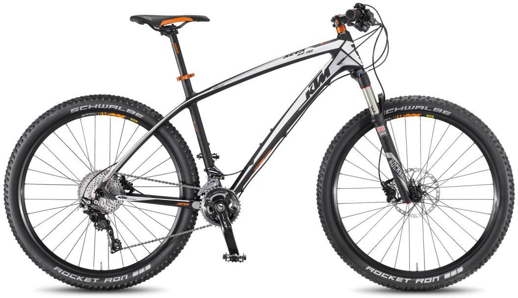 Велосипед горный KTM Aera 27.5 Pro 2F 2016, цвет: черный, рама 17, колесо 27,5267164