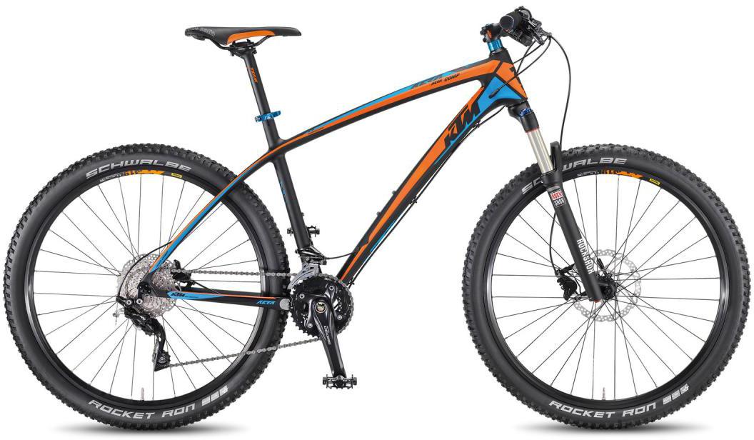 Велосипед горный KTM Aera 27.5 Comp 2F 2016, цвет: черный, рама 21, колесо 27,5267174