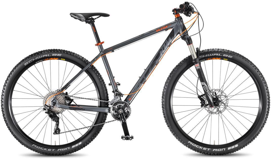 Велосипед горный KTM Ultra Team 29 3F 2016, цвет: серый, рама 17, колесо 29267182
