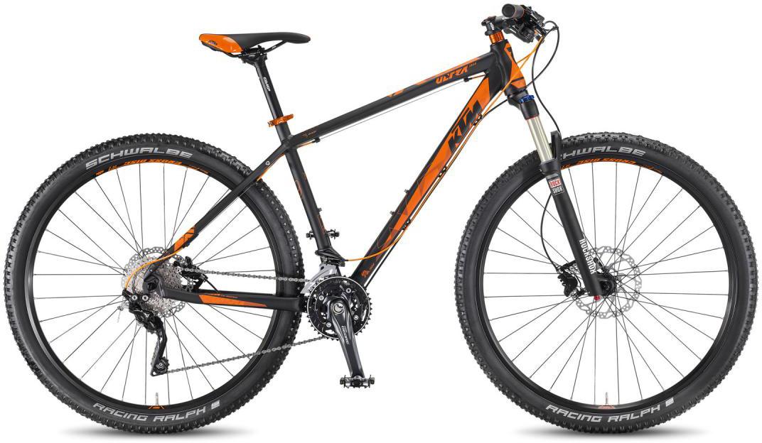 Велосипед горный KTM Ultra 1964 LTD 29 2016, цвет: черный, рама 22,5, колесо 29267197