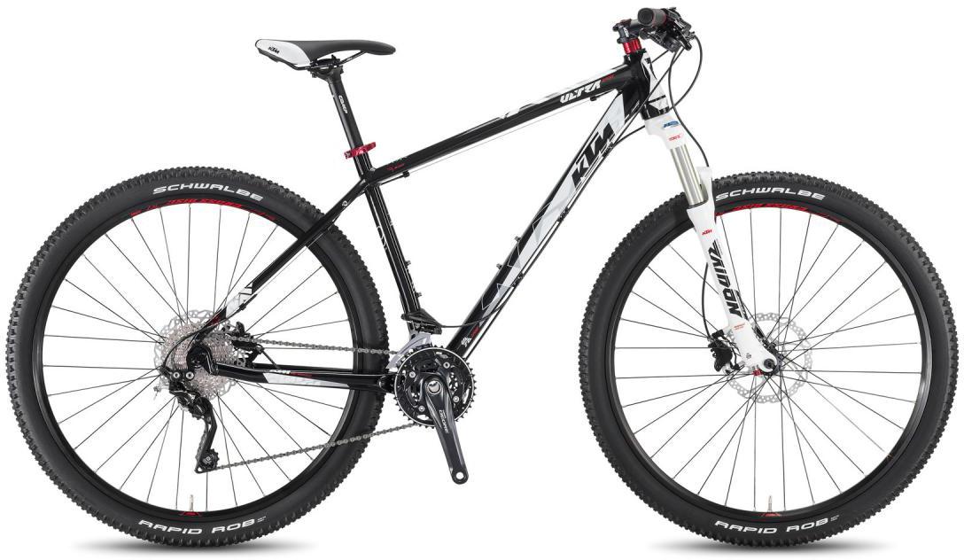 Велосипед горный KTM Ultra Sport 29 2016, цвет: черный, рама 21, колесо 29267200