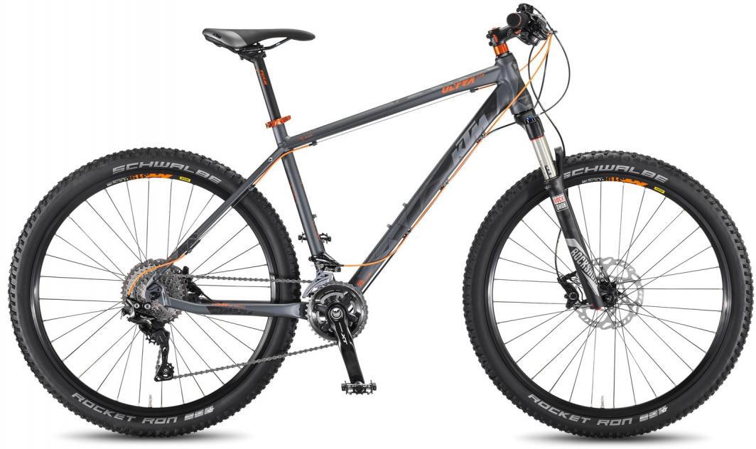 Велосипед горный KTM Ultra Team 27.5 3F 2016, цвет: серый, рама 19, колесо 27,5267208