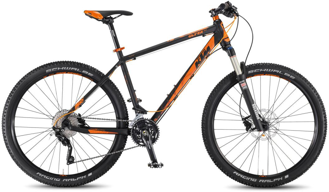 Велосипед горный KTM Ultra 1964 LTD 27.5 2016, цвет: черный, рама 22,5, колесо 27,5267226