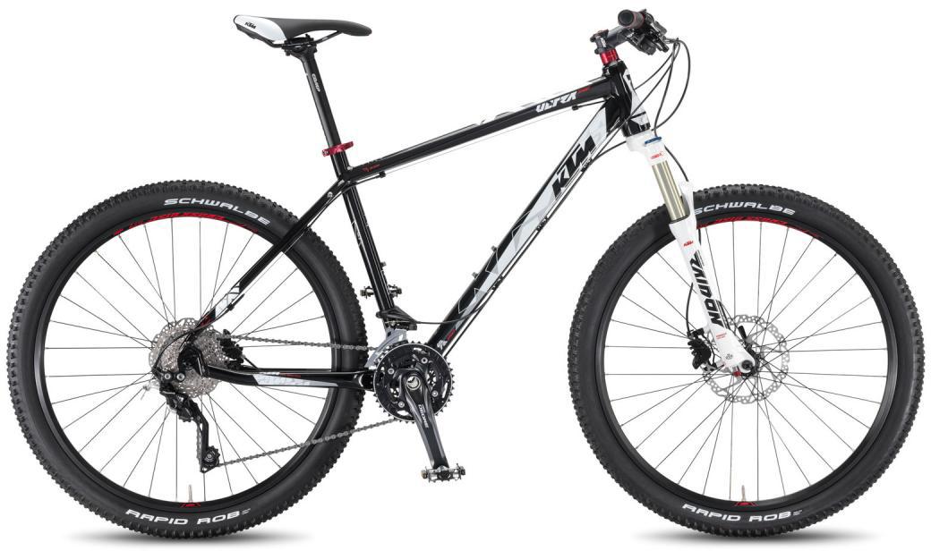 Велосипед горный KTM Ultra Sport 27.5 2016, цвет: черный, рама 21, колесо 27,5267230