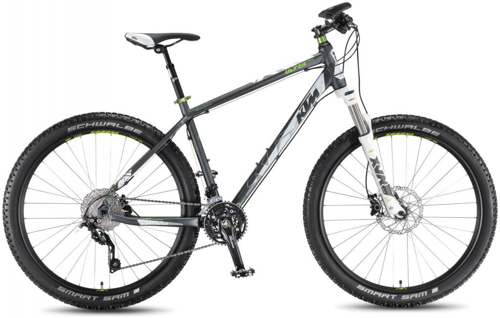 Велосипед горный KTM Ultra Cross 27.5 2016, цвет: серый, рама 16,5, колесо 27,5267231