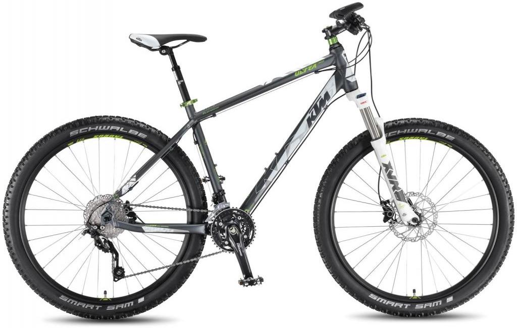 Велосипед горный KTM Ultra Cross 27.5 2016, цвет: серый, рама 20,5, колесо 27,5267233