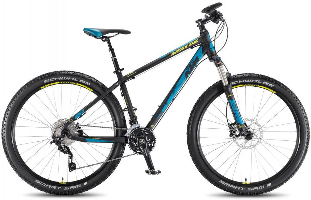 Велосипед горный KTM Baggy Sue 2016, цвет: черный, рама 16,5, колесо 27,5267235