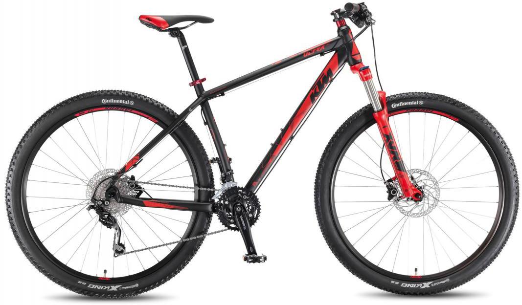 Велосипед горный KTM Ultra Fire 29 2016, цвет: черный, рама 21, колесо 29267245