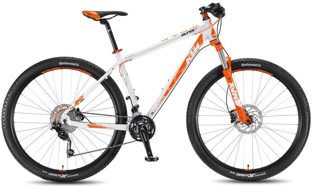 Велосипед горный KTM Ultra Fire 29 2016, цвет: белый, рама 21, колесо 29267248