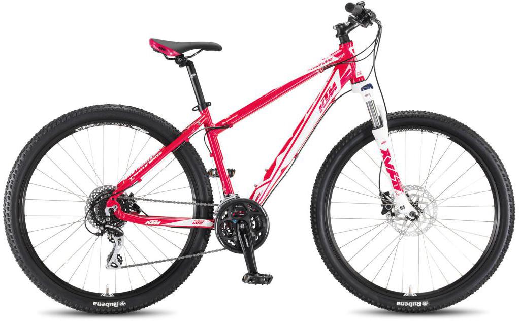 Велосипед горный KTM Penny Lane 27.24 Disc H 2016, цвет: розовый, рама 19, колесо 27,5267332