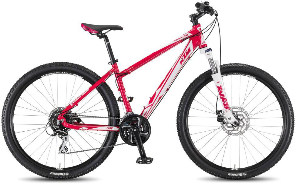 Велосипед горный KTM Penny Lane 27.24 Disc M 2016, цвет: розовый, рама 19, колесо 27,5267338