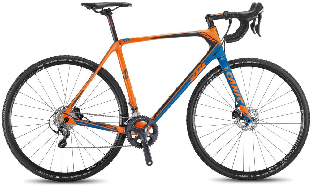 Велосипед шоссейный KTM Canic CXC 2F 2016, цвет: оранжевый, рама 19, колесо 28267350