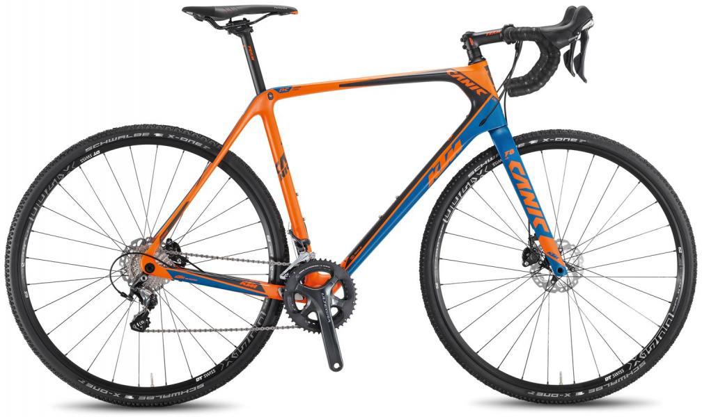 Велосипед шоссейный KTM Canic CXC 2F 2016, цвет: оранжевый, рама 22, колесо 28267352