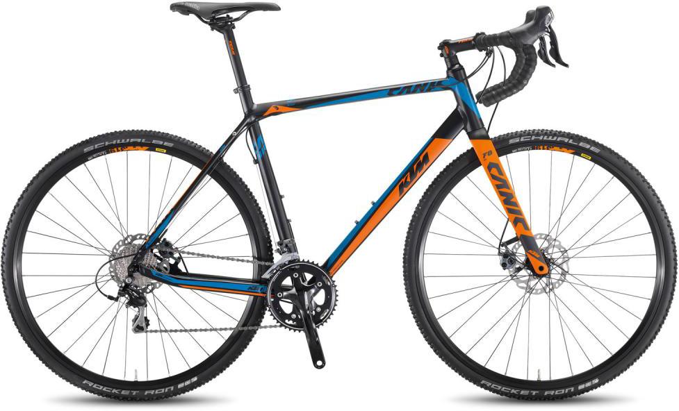 Велосипед шоссейный KTM Canic CXA 2F 2016, цвет: черный, рама 19, колесо 28267355