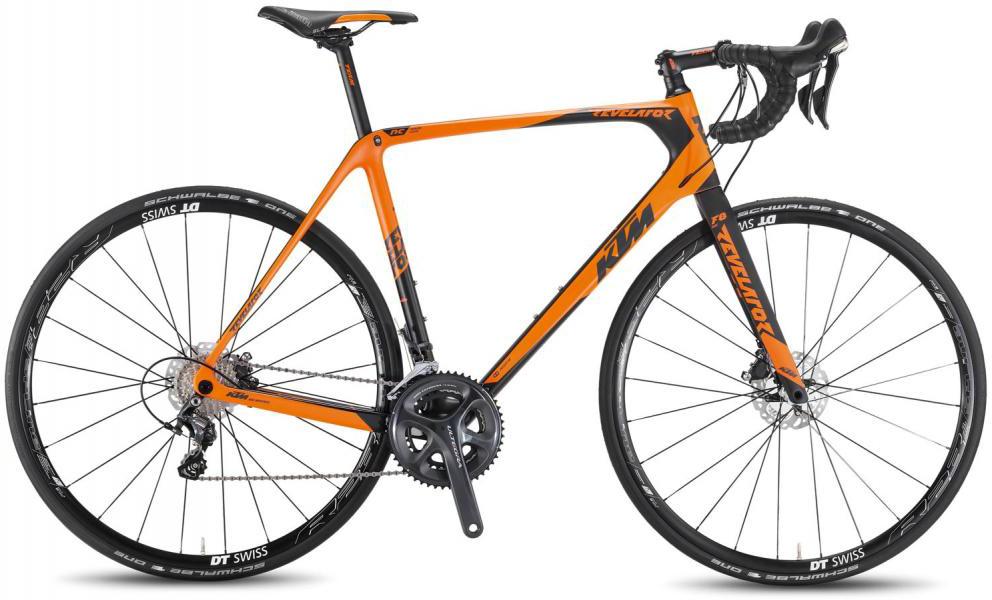 Велосипед шоссейный KTM Revelator Sky orange 2016, цвет: оранжевый, рама 22, колесо 28267367