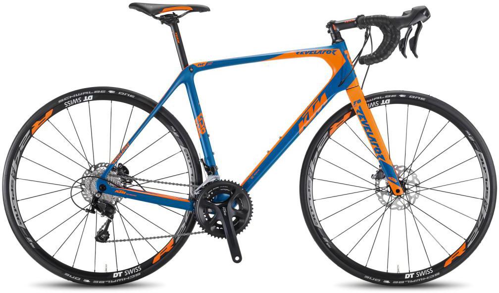 Велосипед шоссейный KTM Revelator Sky blue 2016, цвет: синий, рама 19, колесо 28267370