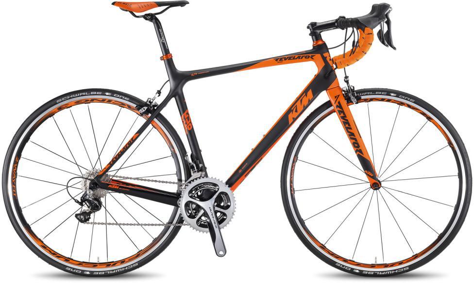 Велосипед шоссейный KTM Revelator Master 2016, цвет: черный, рама 23, колесо 28267378