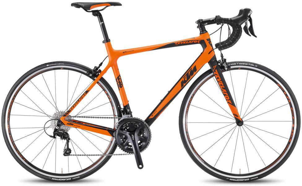Велосипед шоссейный KTM Revelator 3500 2016, цвет: оранжевый, рама 21, колесо 28267391
