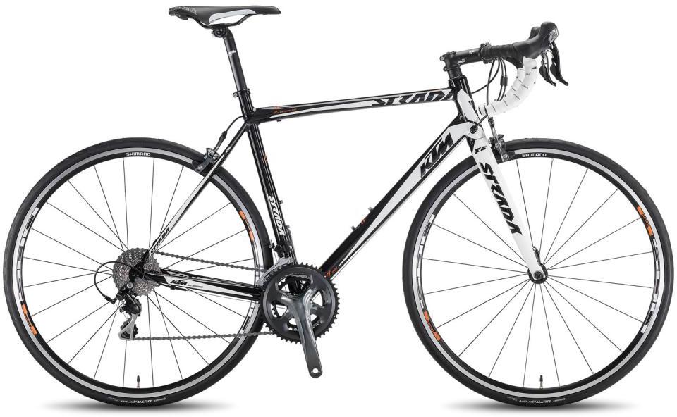 Велосипед шоссейный KTM Strada 1000 2016, цвет: черный, рама 18,5, колесо 28267406