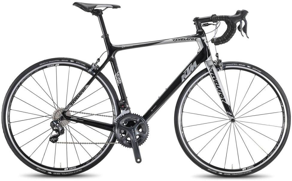Велосипед шоссейный KTM Revelator Elite DI2 2016, цвет: черный, рама 21, колесо 28267429