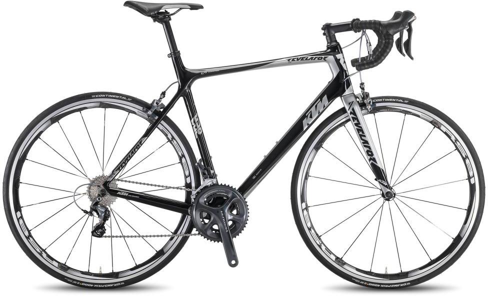 Велосипед шоссейный KTM Revelator Elite 2016, цвет: черный, рама 21, колесо 28267434