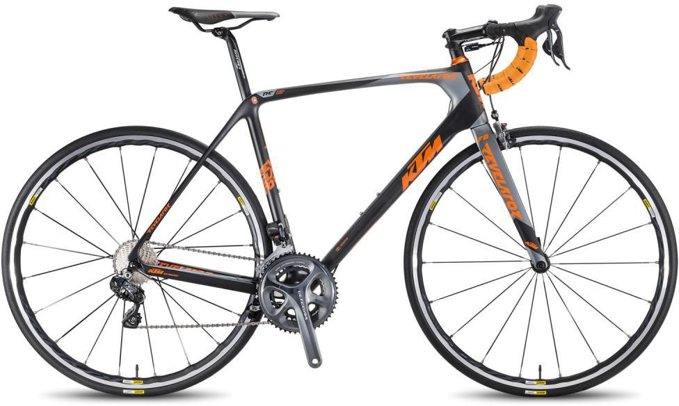Велосипед шоссейный KTM Revelator Prime DI2 2016, цвет: черный, рама 23, колесо 28267440