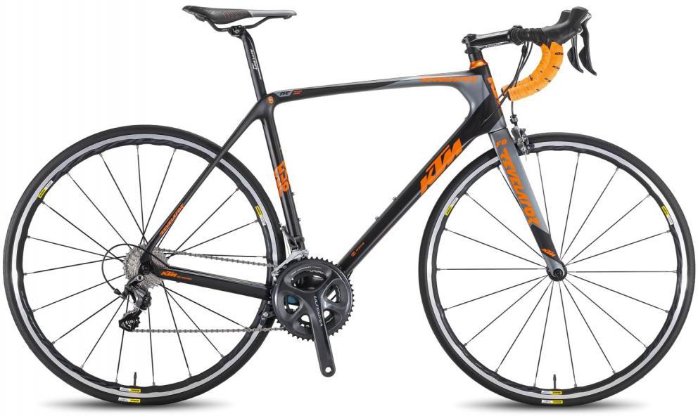 Велосипед шоссейный KTM Revelator Prime 2016, цвет: черный, рама 21, колесо 28267442