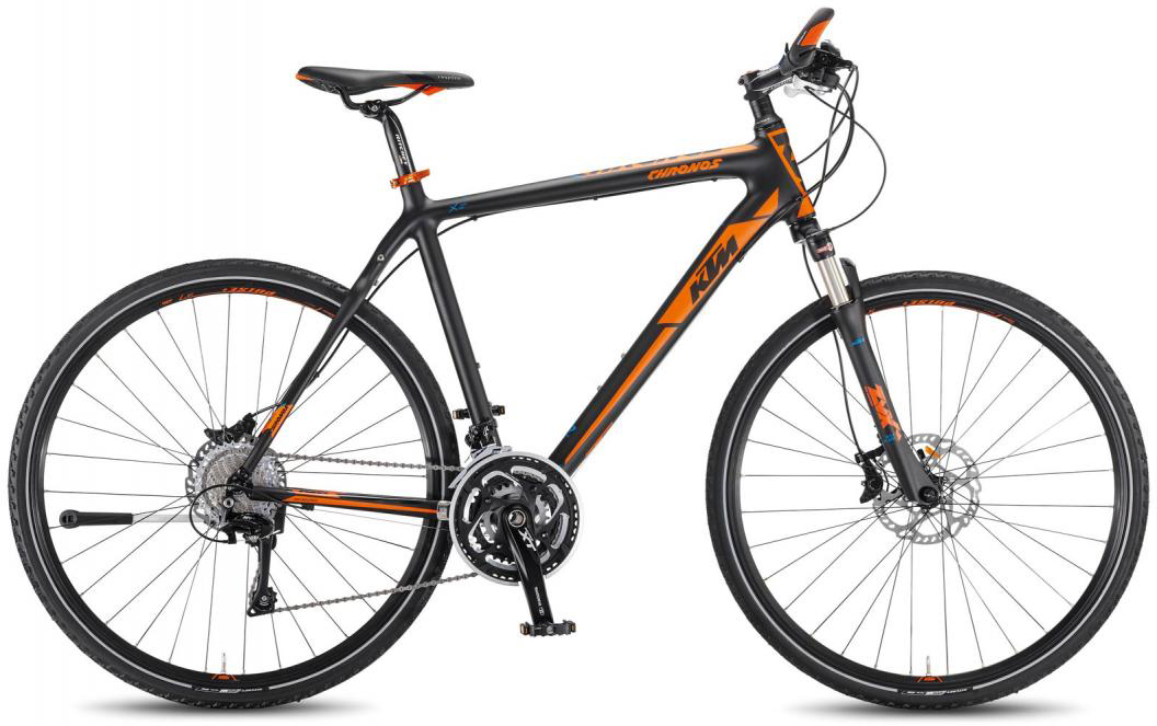Велосипед городской KTM Chronos 2016, цвет: черный, рама 22, колесо 28267448