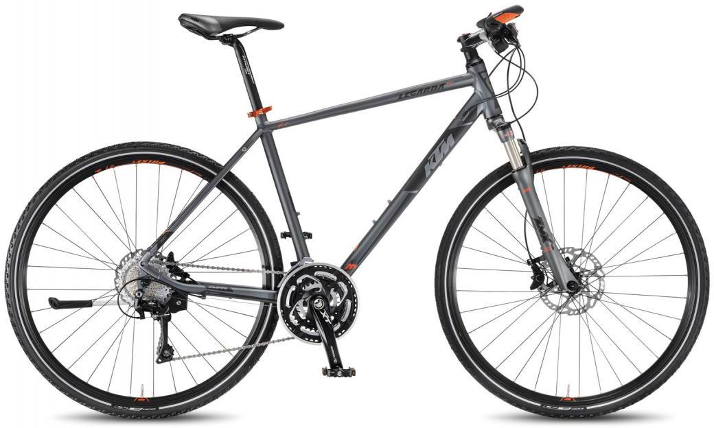 Велосипед городской KTM Legarda Race HE 2016, цвет: серый, рама 22, колесо 28267451