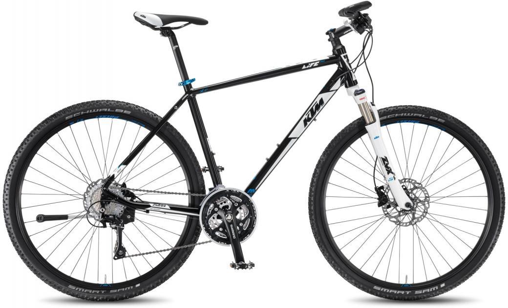 Велосипед городской KTM Life Race HE 2016, цвет: черный, рама 22, колесо 28267457