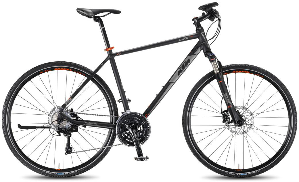 Велосипед городской KTM Life Action HE 2016, цвет: черный, рама 18,5, колесо 28267459