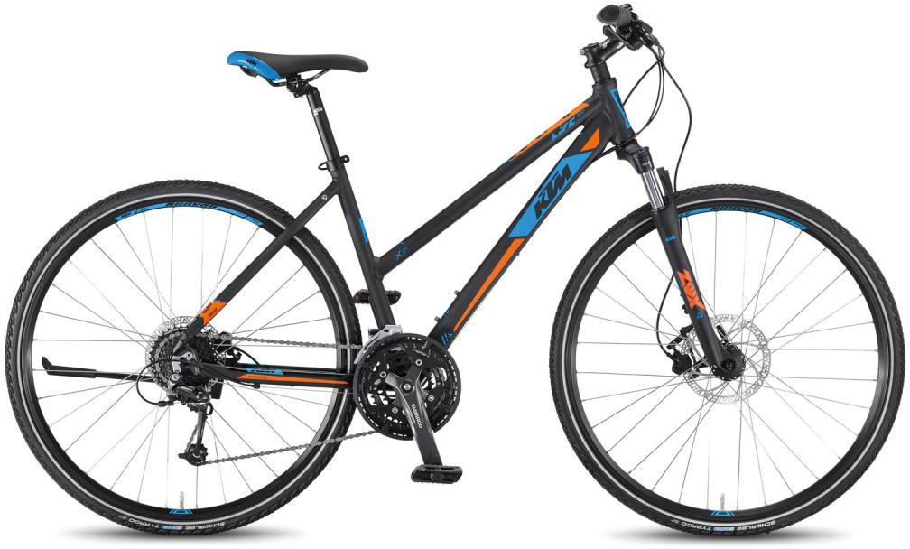 Велосипед женский KTM Life Road 27 Disc DA 2016, цвет: синий, рама 20, колесо 28267483