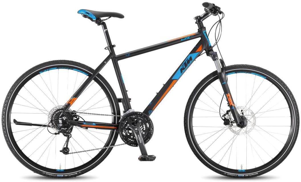 Велосипед городской KTM Life Road 27 Disc HE 2016, цвет: синий, рама 20, колесо 28267488