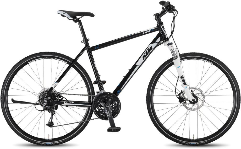 Велосипед городской KTM Life Road 27 Disc HE 2016, цвет: белый, рама 18,5, колесо 28267491