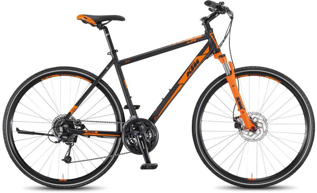Велосипед городской KTM Life Track 24 Disc HE 2016, цвет: оранжевый, рама 22, колесо 28267501