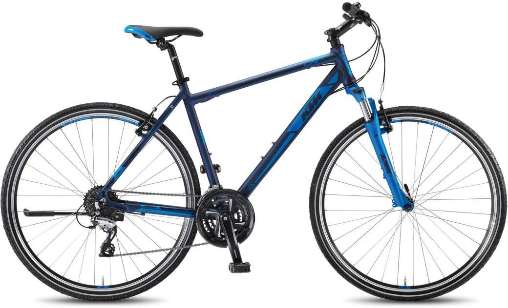 Велосипед городской KTM Life One HE 24 2016, цвет: синий, рама 24, колесо 28267514