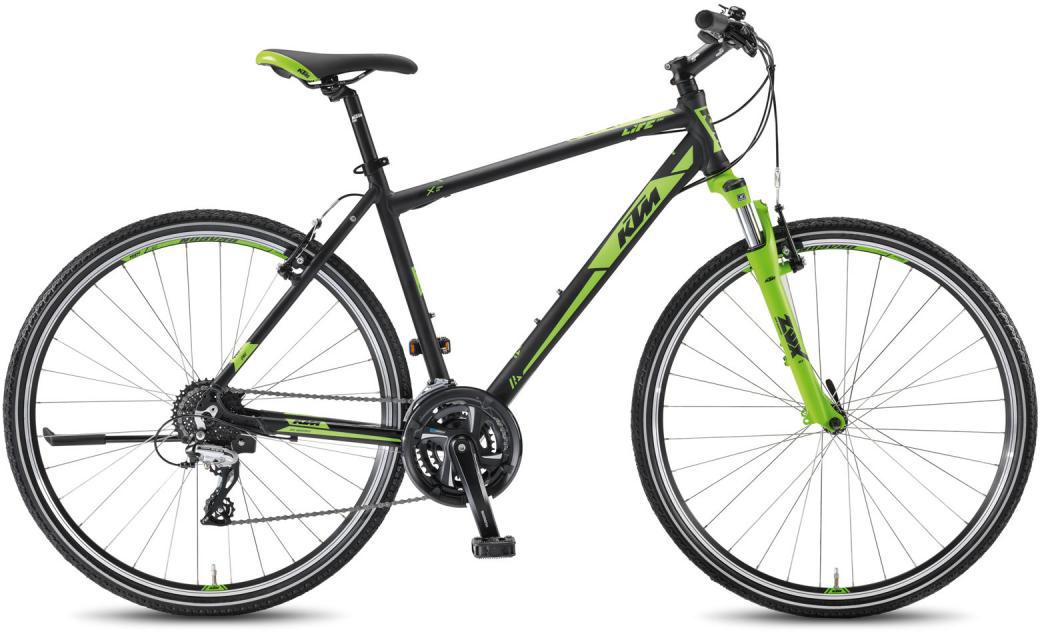 Велосипед городской KTM Life One HE 24 2016, цвет: зеленый, рама 18,5, колесо 28267515