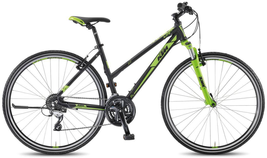Велосипед женский KTM Life One DA 2016, цвет: зеленый, рама 17, колесо 28267519