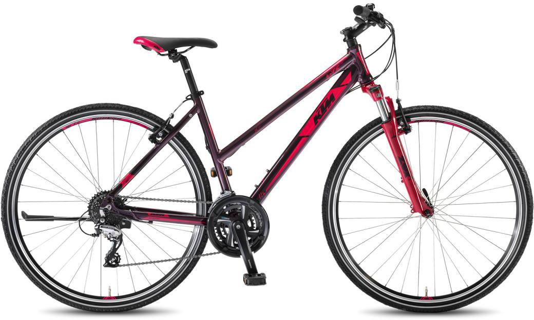 Велосипед женский KTM Life One DA 2016, цвет: розовый, рама 17, колесо 28267522