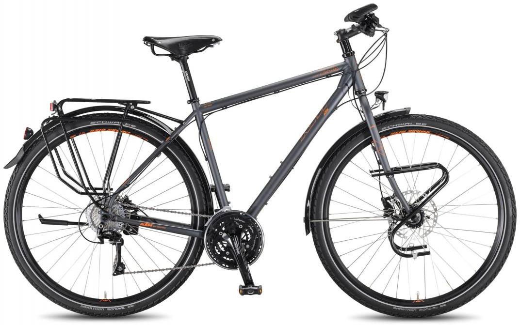 Велосипед городской KTM Life Lontano HE 2016, цвет: серый, рама 20, колесо 28267530