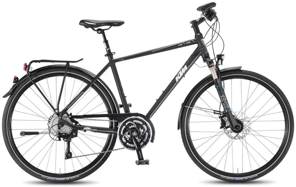 Велосипед городской KTM Life Style HE 2016, цвет: черный, рама 24, колесо 28267542