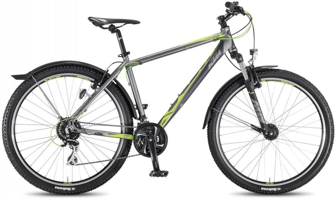Велосипед горный KTM Chicago 27.24 Street 2016, цвет: серый, рама 19, колесо 27,5267550