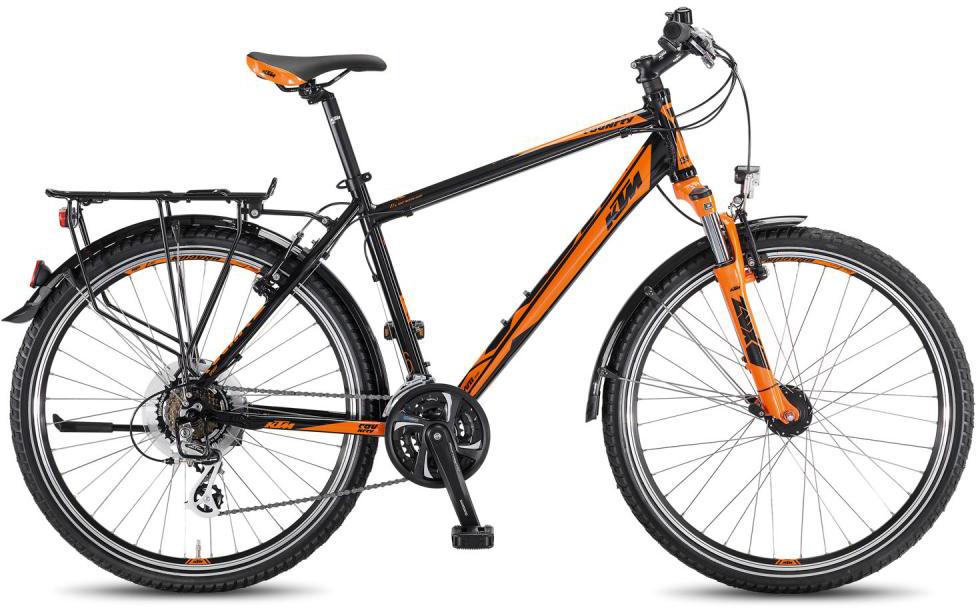 Велосипед горный KTM Coutry Sport 26.21 2016, цвет: оранжевый, рама 19, колесо 26267554