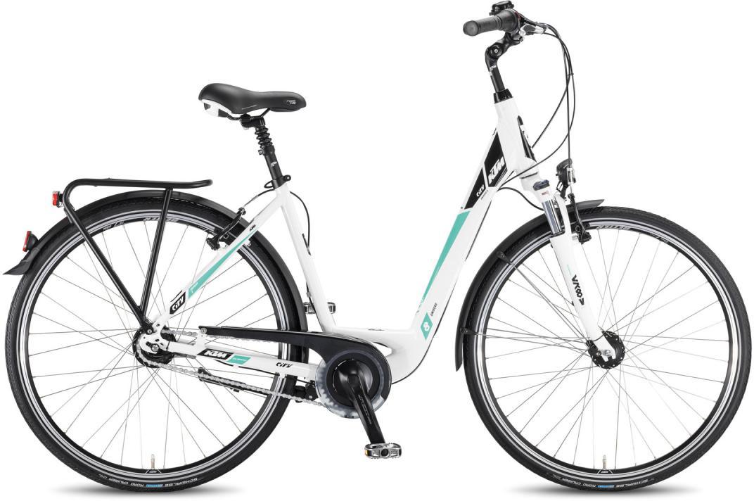 Велосипед женский KTM City Univers 28.8 2016, цвет: белый, рама 18,5, колесо 28267560