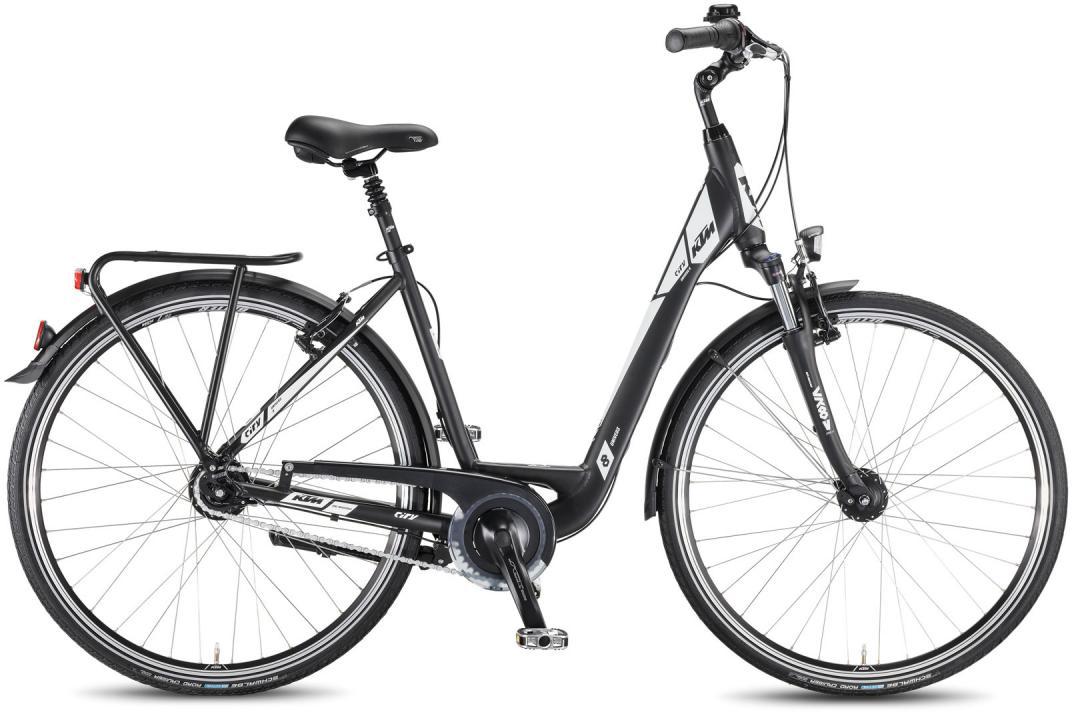 Велосипед женский KTM City Univers 28.8 2016, цвет: черный, рама 20, колесо 28267564