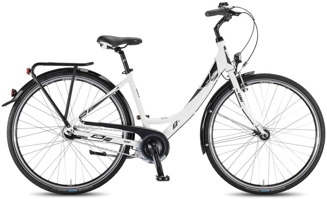 Велосипед женский KTM City Univers 28.7 Lite 2016, цвет: белый, рама 17, колесо 28267566