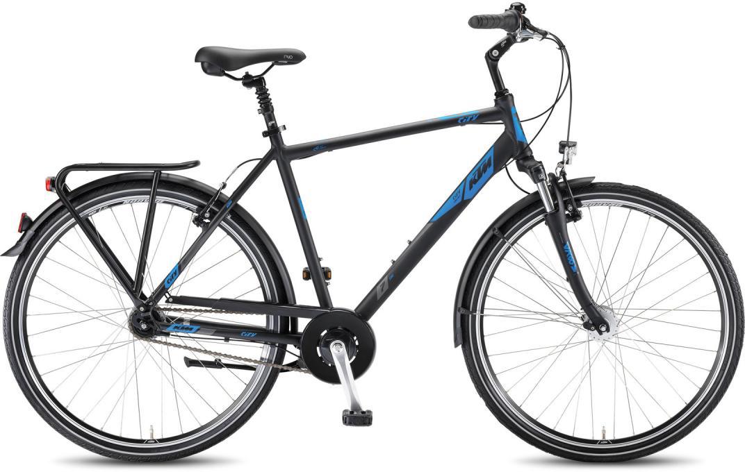 Велосипед городской KTM City Line 28.7 HE 2016, цвет: черный, рама 24, колесо 28267571