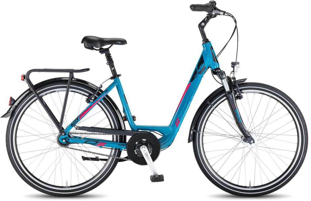 Велосипед женский KTM City Line 26.7 2016, цвет: синий, рама 17, колесо 26267580