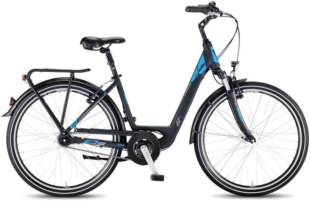 Велосипед женский KTM City Line 26.7 2016, цвет: черный, рама 17, колесо 26267581