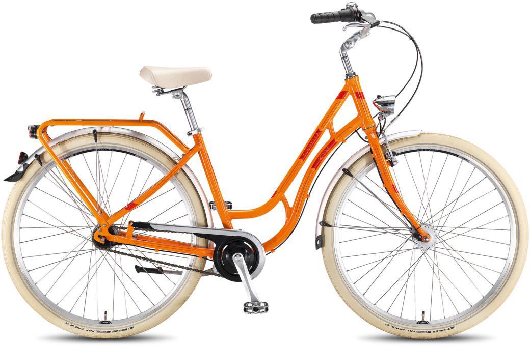 Велосипед женский KTM Tourella 28.7 2016, цвет: оранжевый, рама 20, колесо 28267619